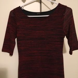 Poetry Dresses - Red Sweater Dress. Perfect for the Holiday